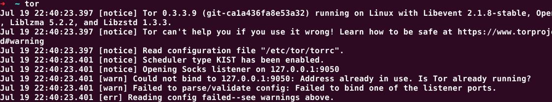 نصب تور در لینوکس